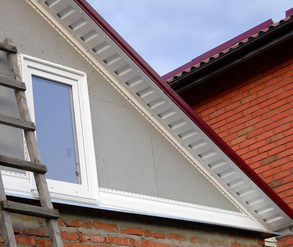 Как сделать фасад крыши своими