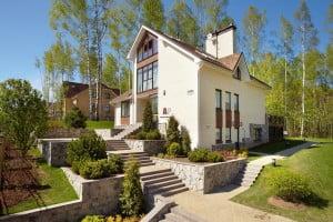 Современный фасад дома