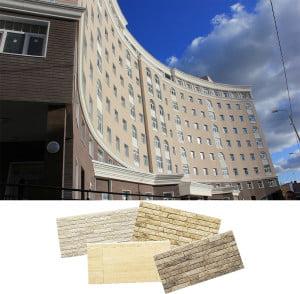 Дом и стеновые фасадные панели