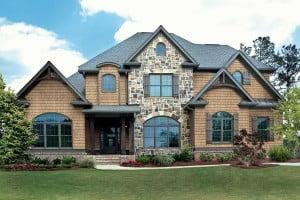 Стильный вентилируемый фасад
